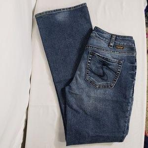 Silver Suki Boot Cut Medium Wash Denim Jeans Sz 30
